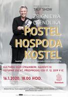 Talk show Zbigniewa Czendlika - Postel, hospoda, kostel 1