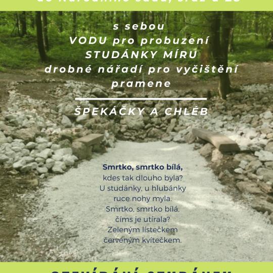 Otevírání studánek - vítání jara - ZRUŠENO 1