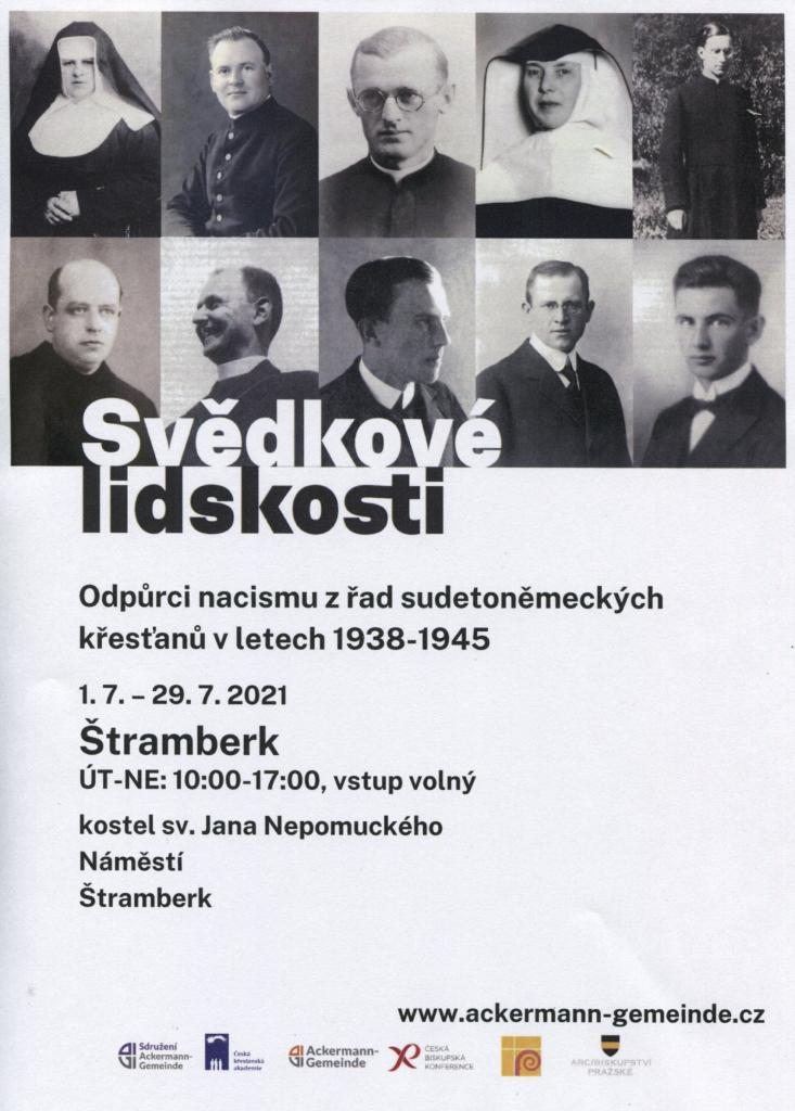 Svědkové lidskosti - Odpůrci nacismu z řad sudetoněmeckých křesťanů v l. 1938-1945