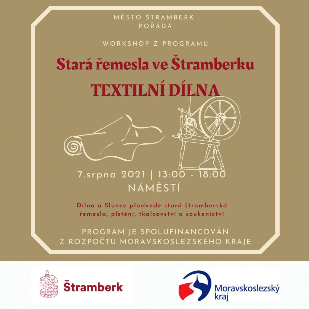 Stará řemesla ve Štramberku - Textilní dílna