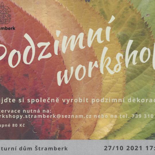 Podzimní workshop 1