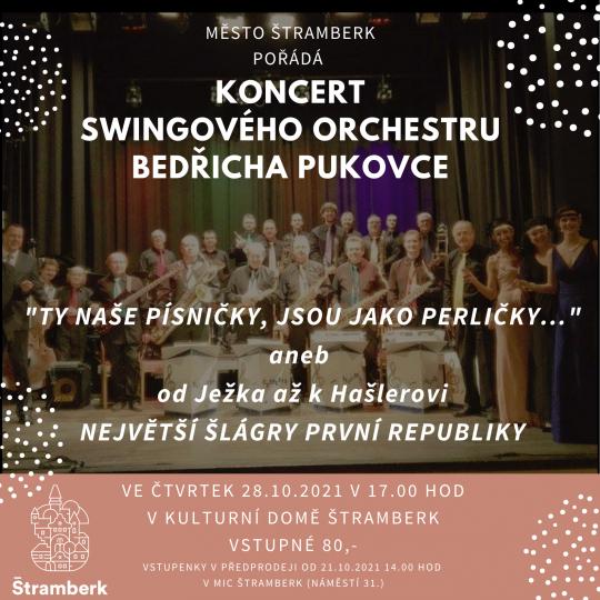 Orchestr Bedřicha Pukovce ke 103. výročí ČSR 1